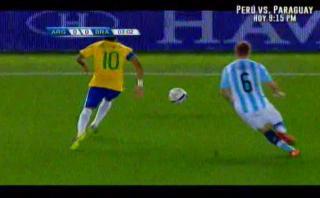 Di María eludió a Neymar con el taco y fue aclamado [VIDEO]