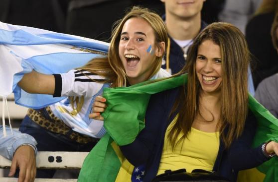 Argentina vs. Brasil: las mejores fotos del primer tiempo