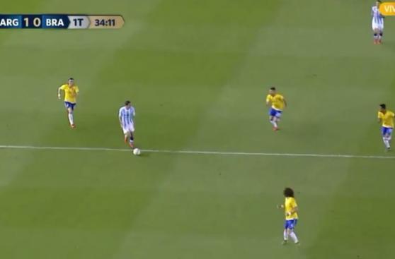 CUADRO x CUADRO: gol de Lavezzi que hizo estallar el Monumental