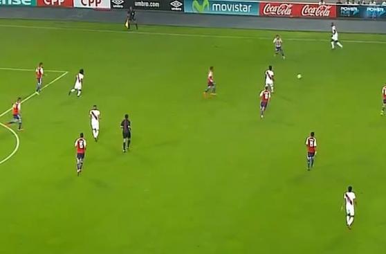 Cuadro x Cuadro: el gol de Jefferson Farfán contra Paraguay