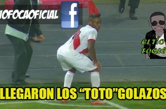 Perú vs Paraguay: Farfán víctima de memes tras bailar el 'Totó'