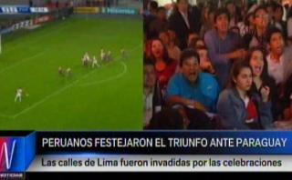 Selección peruana: euforia del hincha por triunfo ante Paraguay