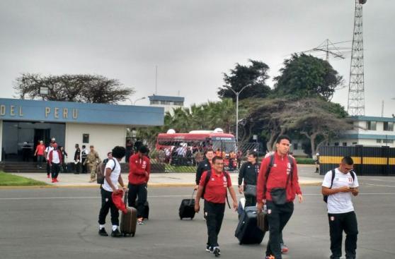 Selección peruana: las fotos de la partida rumbo a Brasil