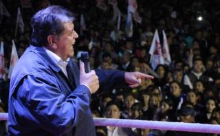 Alan García pide no creer en encuestas que no lo favorecen