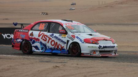 Takeo Matayoshi fue el más rápido en la TC1600. (Fotos: Ruedas&Tuercas)