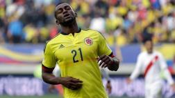 Selección Colombia: Jackson Martínez es baja ante Argentina