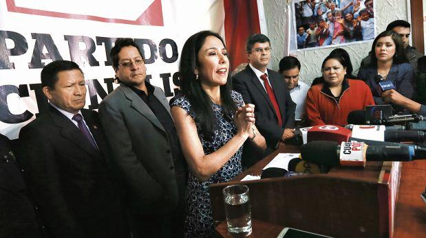 Nadine Heredia: fiscal insistirá en peritaje grafotécnico