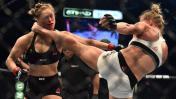 Holly Holm noqueó a Ronda, le quitó el título y el invicto