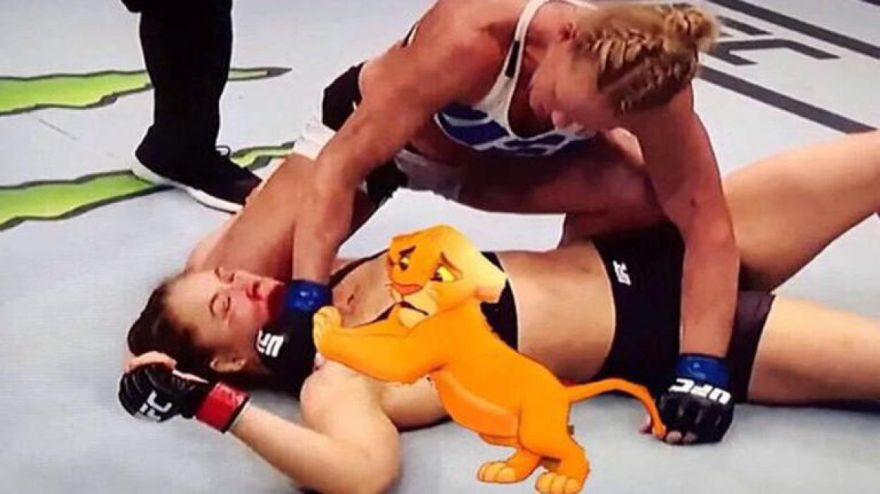 Memes: el brutal nocaut de Holly Holm a Ronda Rousey en la UFC