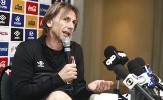 """Ricardo Gareca: """"No concentraremos toda la atención en Neymar"""""""