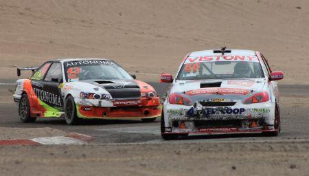 Takeo Matayoshi ganó la TC1600 y se pone en la pelea por el campeonato. (Foto: Ruedas&Tuercas)