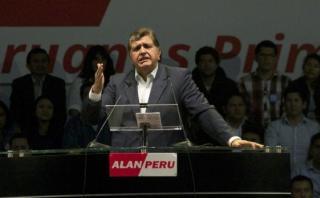 Elecciones 2016: Alan García presenta hoy su plan de gobierno