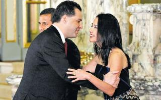"Nadine Heredia se defiende y llama ""cobarde"" a Omar Chehade"