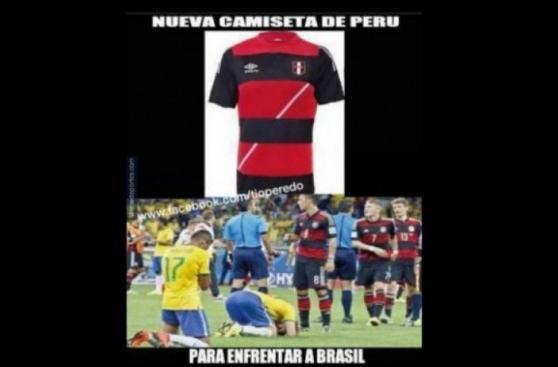 Perú vs. Brasil: los memes de la previa del partido