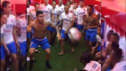 James realizó impresionante reto en camarín de Colombia [VIDEO]