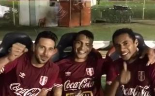 Selección: arenga de los capitanes Lobatón, Pizarro y Guerrero