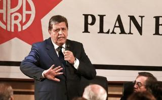 Alan García: Sin mentir, en 12 meses pueblo verá más seguridad