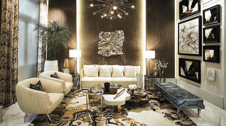 Logra habitaciones glamorosas con una decoraci n de lujo for Decoracion para comercios