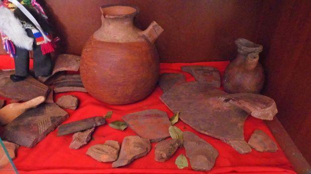 Cusco: objetos arqueológicos estaban en poder de pobladores