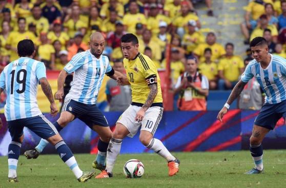 Colombia vs. Argentina: fotos del intenso duelo en Barranquilla