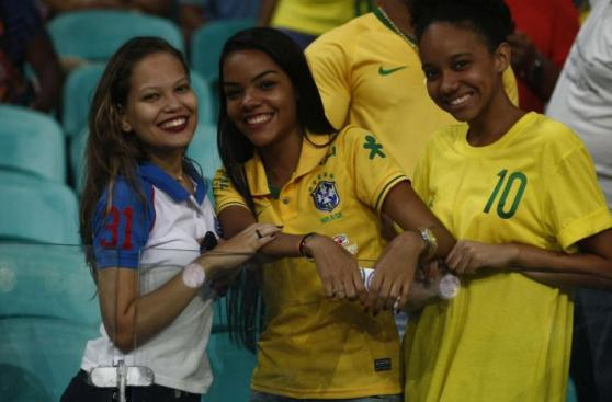 Perú vs. Brasil: así se vivió el duelo en el estadio de Bahía