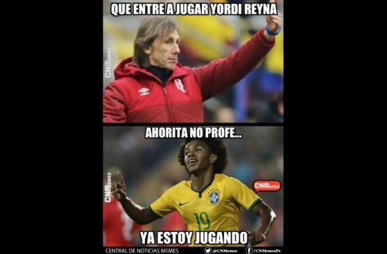 Los memes sobre Perú que dejó la goleada ante Brasil [GALERÍA]