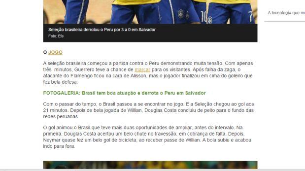 peru brasil