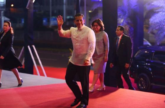 Ollanta Humala copresidió reunión de los líderes de APEC