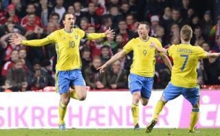 Con este golazo, Zlatan clasificó a Suecia a la Eurocopa