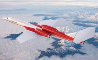 Este es el avión supersónico que suplantaría al Concorde