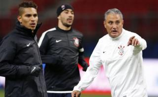 """Paolo Guerrero es """"parte del posible título"""" de Corinthians"""
