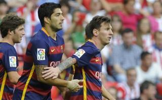 ¿Lionel Messi juega el clásico? Suárez dio algunas pistas
