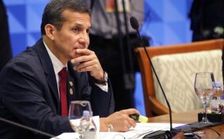 """Ollanta Humala: """"Con Chile no estamos peleados"""""""