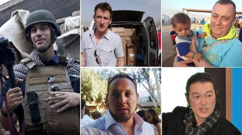 Los periodistas son blanco favorito de los radicales de EI (Foto: BBC Mundo)