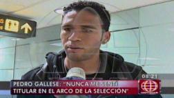 Pedro Gallese respondió sobre suplencia en la selección peruana