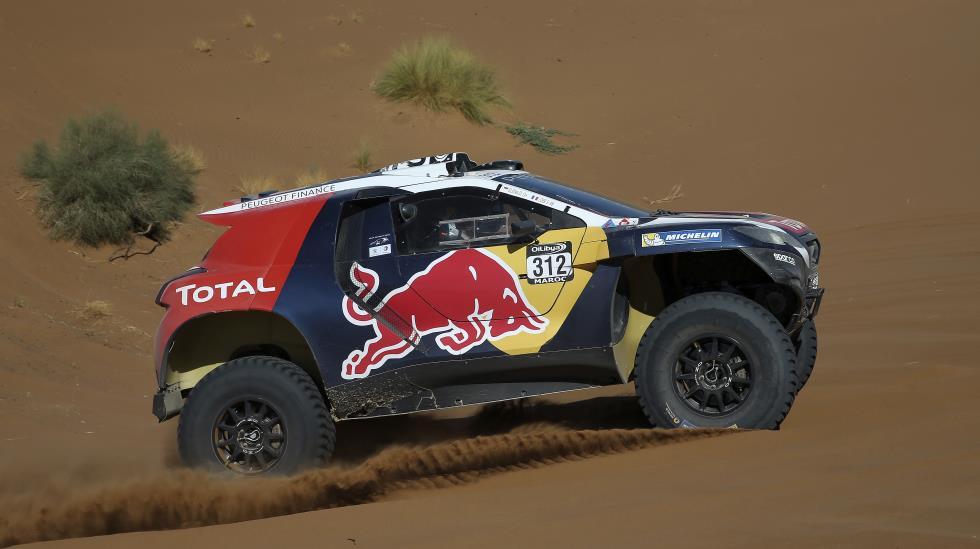 Sebastien Loeb correrá el Dakar con Peugeot en el 2016. (Foto: Dppi)