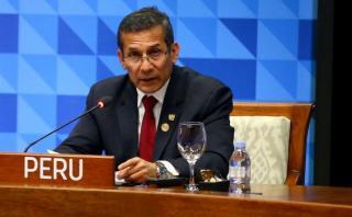 Humala dice que desaceleración económica es una oportunidad