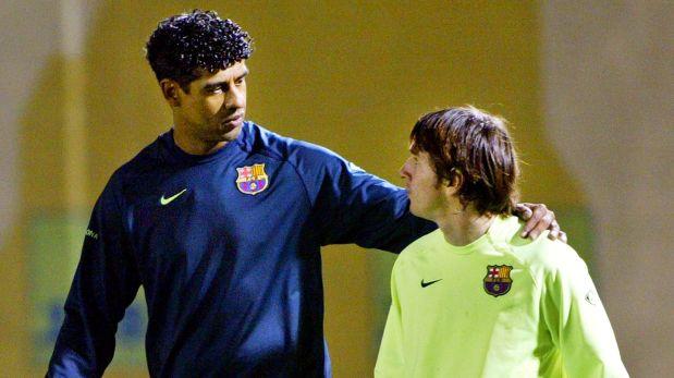Frank Rijkaard Decidio Alinear De Titular A Lionel Messi Aquel  De Noviembre Del  Foto Fc Barcelona