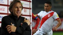 Ricardo Gareca descartó tener algún problema con Joel Sánchez