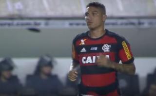 Paolo Guerrero sigue sin anotar: ingresó en empate de Flamengo