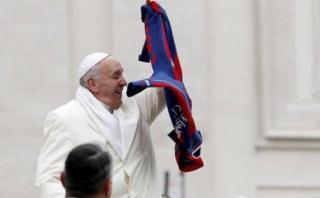 """Papa Francisco a Huracán: """"Rezo pa' que se pinche el globo"""""""