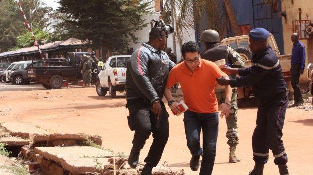 Toma de rehenes en Mali. (AP)
