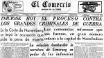 A 70 años del juicio de Nuremberg - Noticias de efemérides