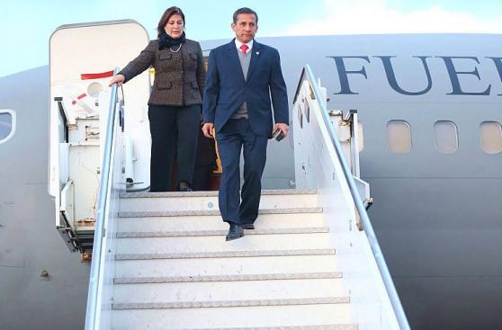 Ollanta Humala arribó a Italia tras participar en Cumbre APEC