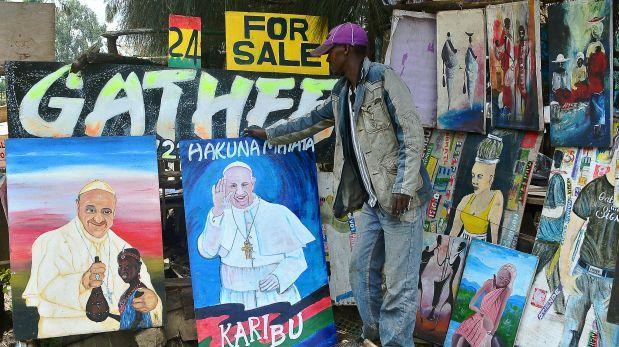"""""""Papamanía"""" llega a África Oriental por próxima visita del Papa"""