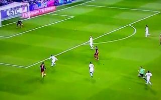 Neymar y la sensacional jugada que no terminó en gol de milagro