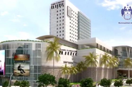 Proyecto de El Hueco es idéntico a centro comercial colombiano