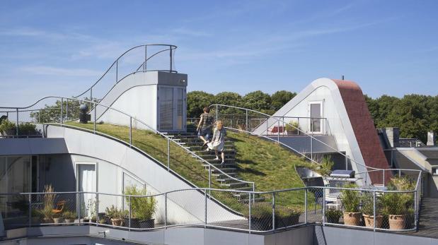 Un 39 jard n perdido 39 se instal en los techos de copenhague for El jardin perdido