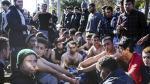 No los dejan entrar a Europa y se cosen labios como protesta - Noticias de irak