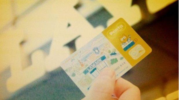 Una tarjeta de Lawson recompensa a los trabajadores de la empresa por mantenerse en forma. (Foto: BBC)